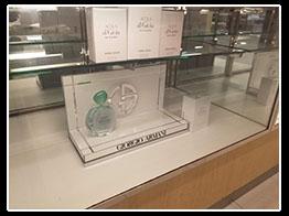 Giorgio Armani Acqua Incase Display